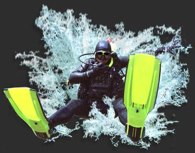 Oceandiver Splash Logo
