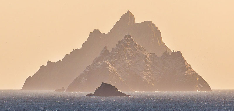 Skellig Rocks with Lemon Rock in the foreground