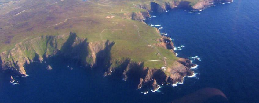 Coastline around Aranmore Island