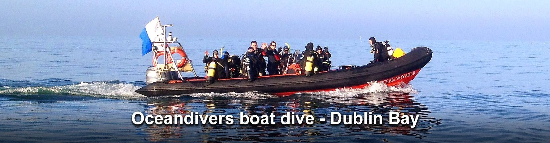 Boat dives Dublin Bay